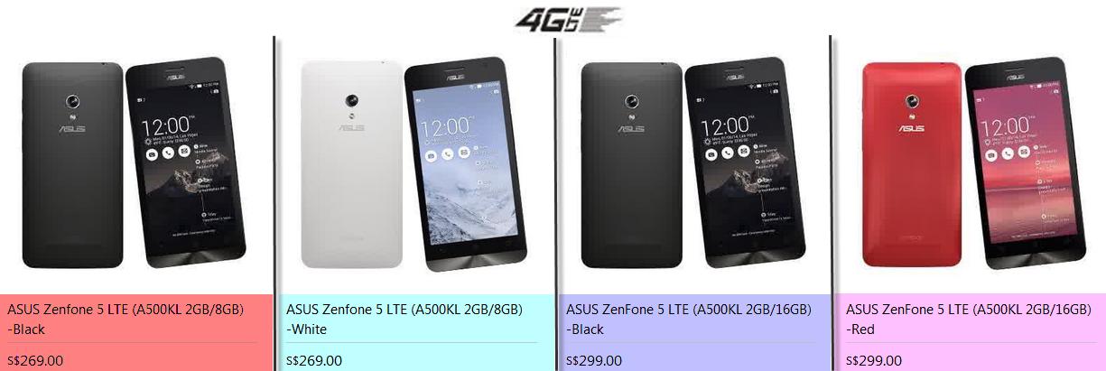 Harga Asus Zenfone 5 A500cg Dan A500kl Terbaru
