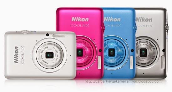 Harga dan Spesifikasi Kamera Nikon Coolpix S02