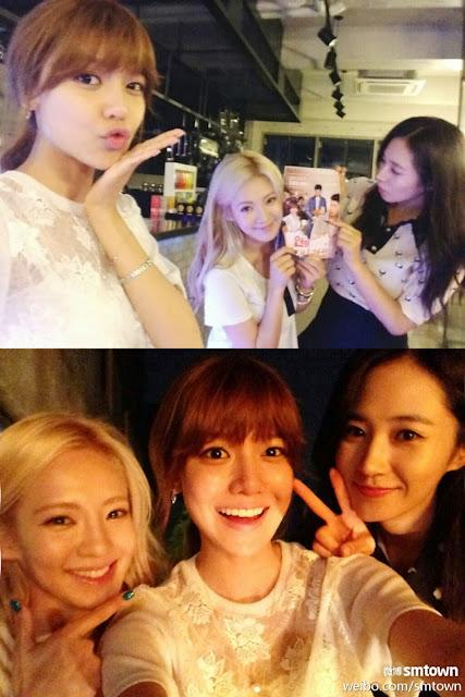 Hyoyeon, Yuri, Sooyoung, Girls Generation