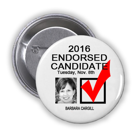 RACE FOR MEMBER, STATE BOARD OF EDUCATION, DISTRICT 8 -- Barbara Cargill