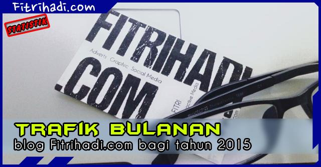 Statistik Trafik Pelawat Fitrihadi.com 2015