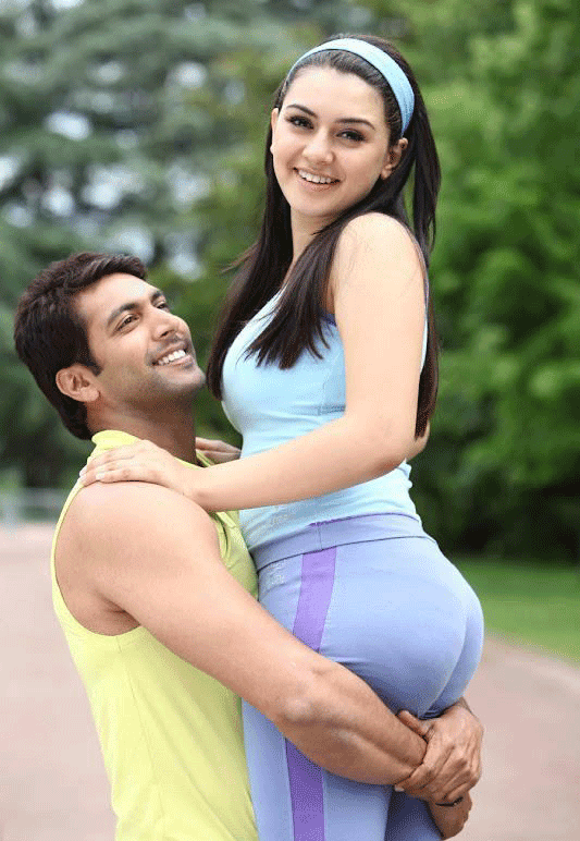 Hansika Motvani Hot with Jeyam Ravi