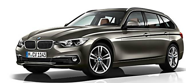2016 BMW  3 Series Touring Redesign