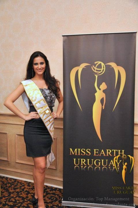 diana banchero,miss earth uruguay 2011