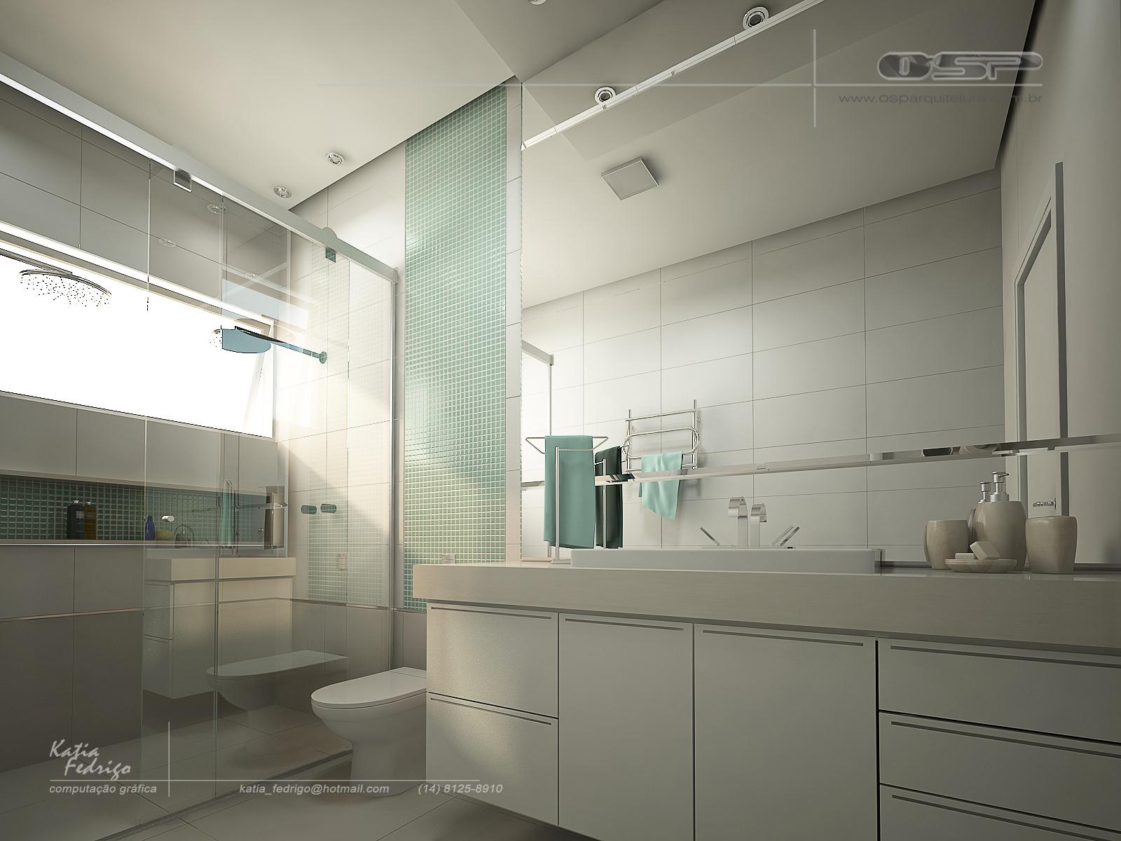 banheiro casal mais interior banheiros banheiro casal decoração casa  #56756F 1600x1200 Arquitetura Banheiros Sp