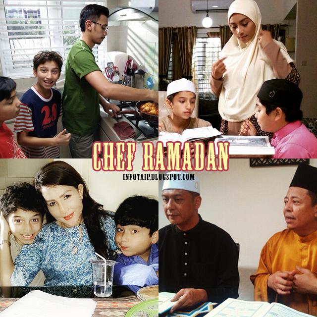 para pelakon chef ramadan, sinopsis chef ramahan, resepi sepanjang bulan ramadan