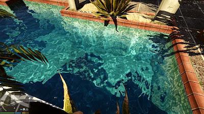 V - Água em 2K para GTA V PC