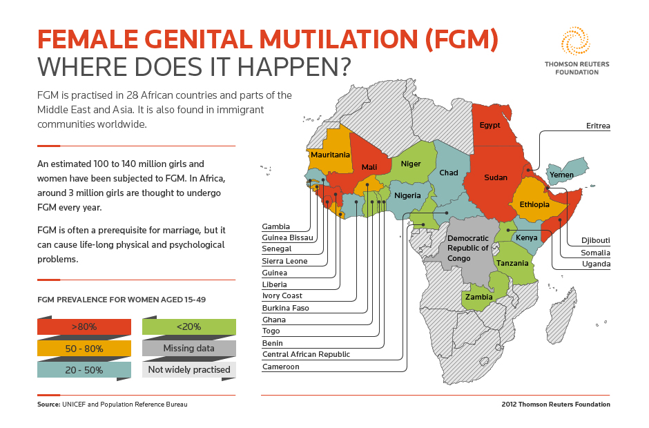 female genital mutilation in the middle east and north africa essay For a free essay sample on female genital mutilation to the country from their countries of origin in africa and parts of the middle east and and north.