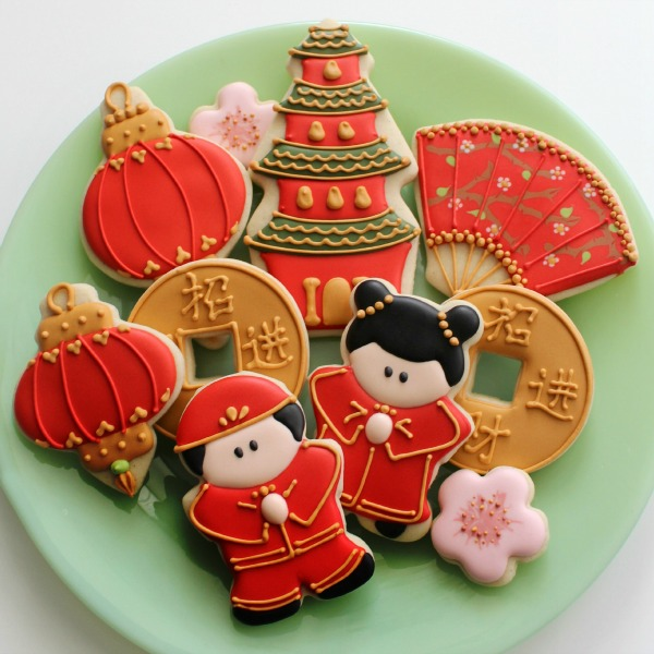 Party Frosting: Chinese New Year!