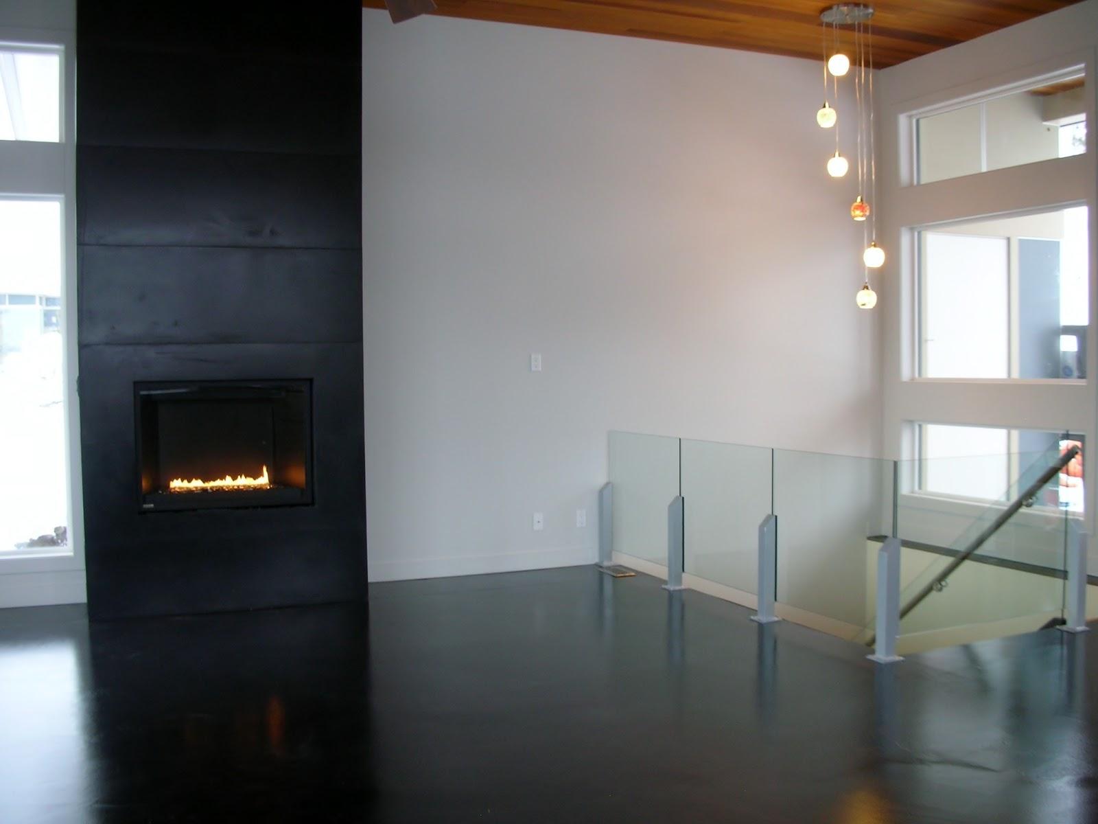 MODE CONCRETE Contemporary Concrete Floors on the Main Floor our