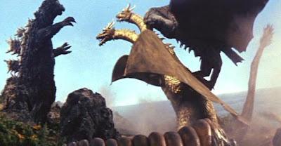 Ghidorah Godzilla Mothra Rodan
