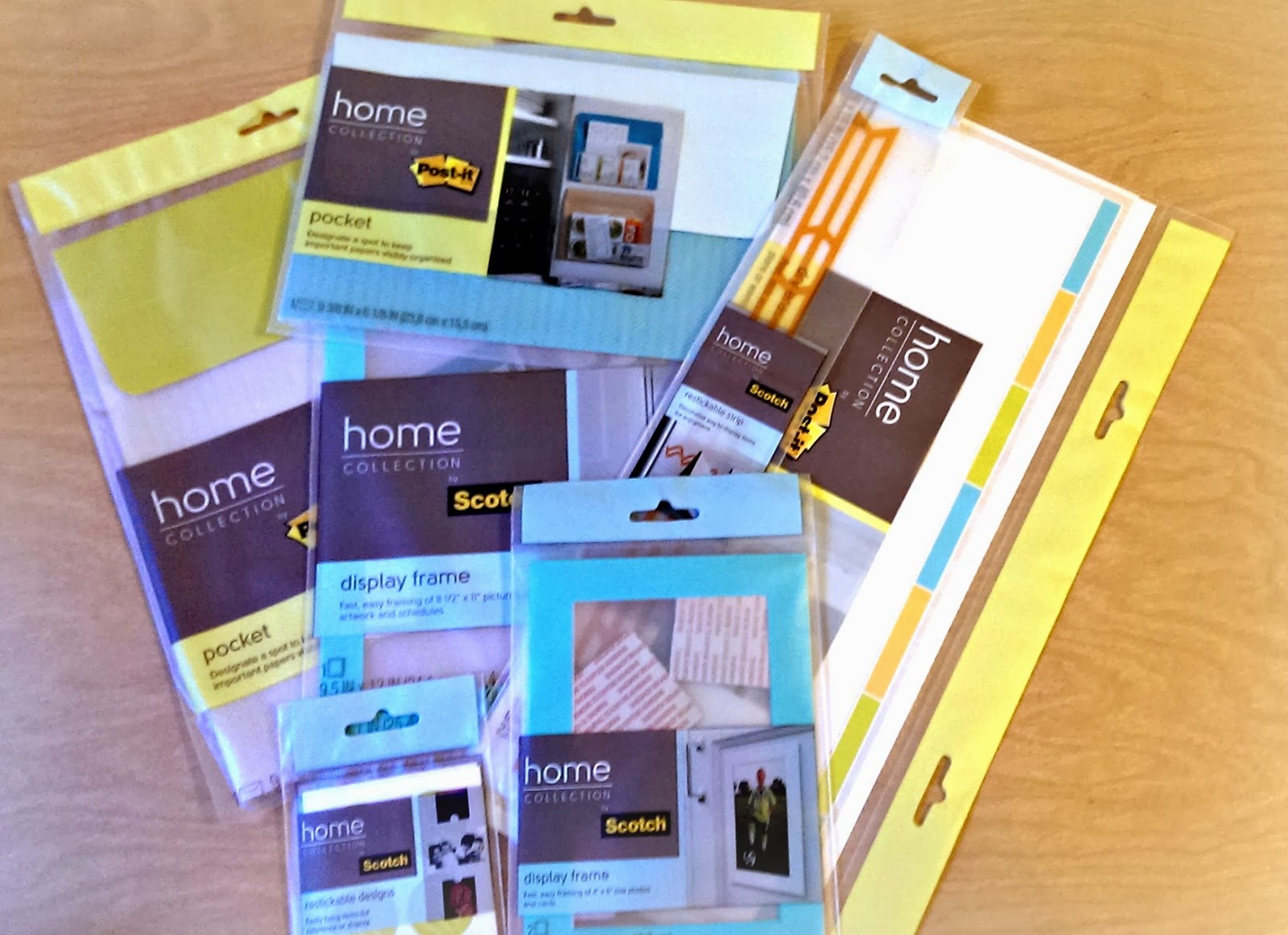 Scotch and Post-it Home Collection for organization