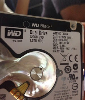 WD Black 2 SSD dan HDD