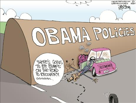 obama bump in the road