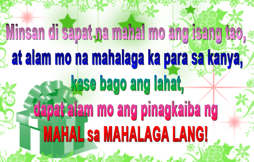 Love Quotes And Sayings For Him Romantic Tagalog : Tagalog Love Quotes And Sayings. QuotesGram