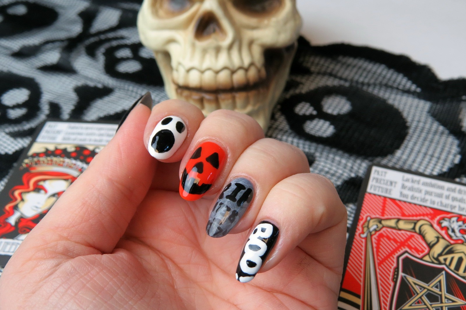 Mani Monday: Fun Halloween Nail Design | Kaitlyn Elisabeth Beauty