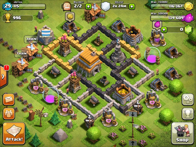 Clash of clans addicting online android game Liam Neeson's advertisment