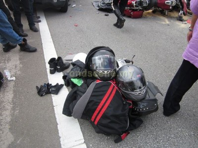 Kemalangan Konvoi Superbike NKVE
