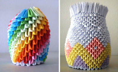 Lapicero de origami