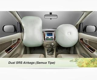 innova dual airbag