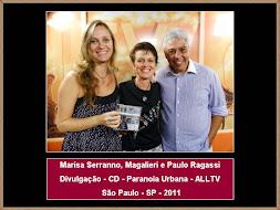 Marisa Serranno e Produtores Programa ALLTV
