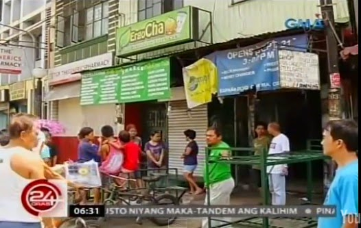 Ergo Cha milk tea poisoning in Manila