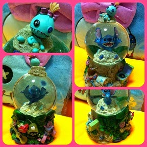 HKDL MUSICAL STITCH + SCRUMP WATER GLOBE