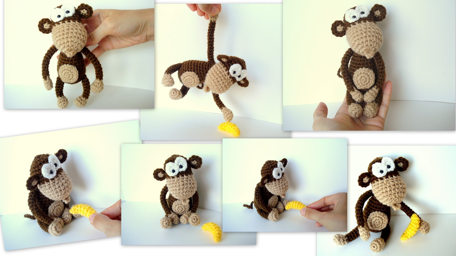 Свое вязание крючком обезьянки 986