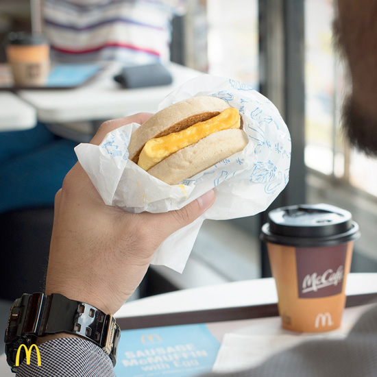 MCDONALD'S ALL-NEW CHEESY EGGDESAL