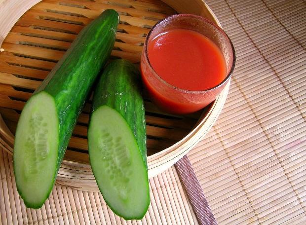 منافع عصير الطماطم