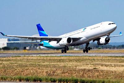 Garuda Indonesia, Airbus A330-300. ZonaAero