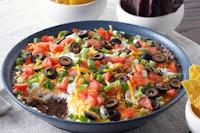 image Kraft Canada Layered Black Bean Dip