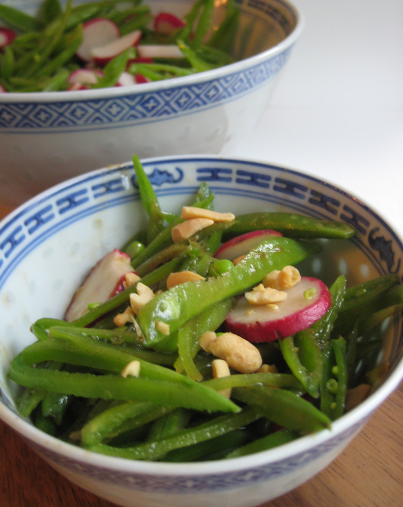 ... - recipes, recaps, and restaurant reviews: Sugar Snap Pea Salad