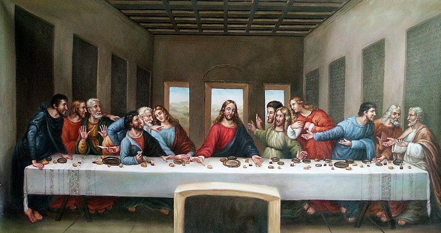 Última cena de Da Vinci