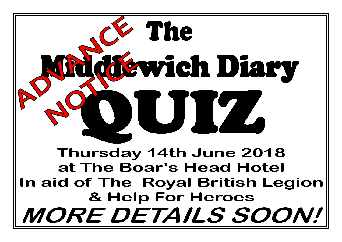 THURSDAY 14th JUNE