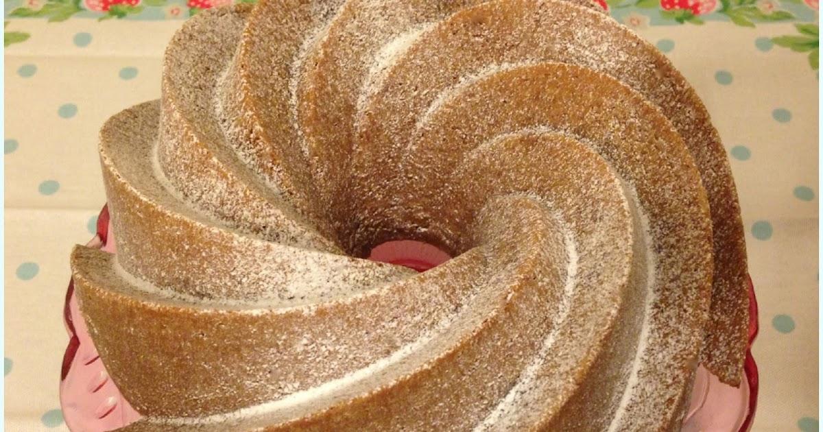 Rhubarb Ripple Bundt Cake Dollybakes