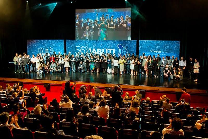 Otro momento de Prêmio Jabuti.
