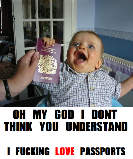 I Don't Think You Know - I Love Passports