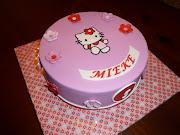 Voor Mieke stond al heel lang een taartopdracht in mijn agenda.