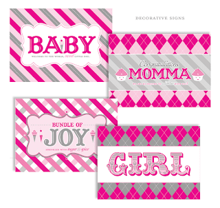 Free Printable Baby Shower Package
