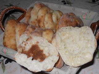 Pan de pita rápido.