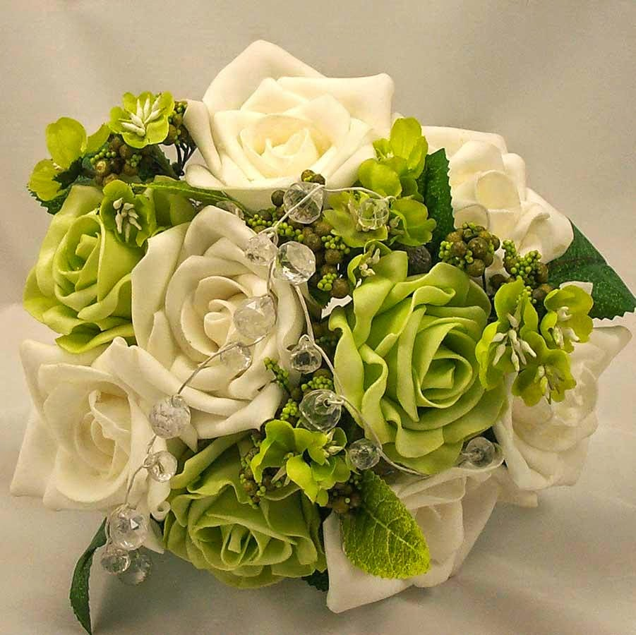 Wholesale Flowers For Wedding Green Wedding Flowers Bouquets