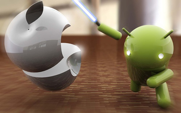 iPhone 4s vs android