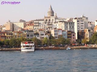 gita Bosforo Istanbul Galata
