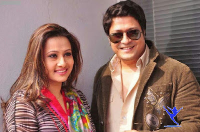 Bangladeshi Film Actress Purnima with Famous Actor Ferdous Ahamed