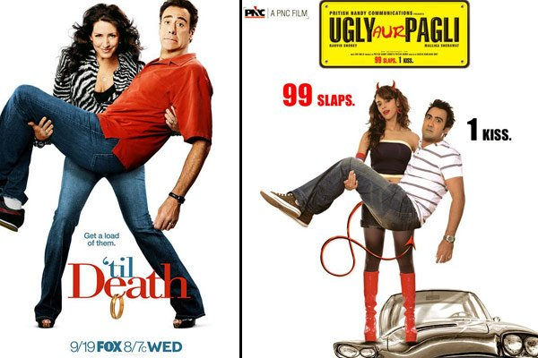 'Ugly aur Pagli' Poster Copied from 'Till Death'