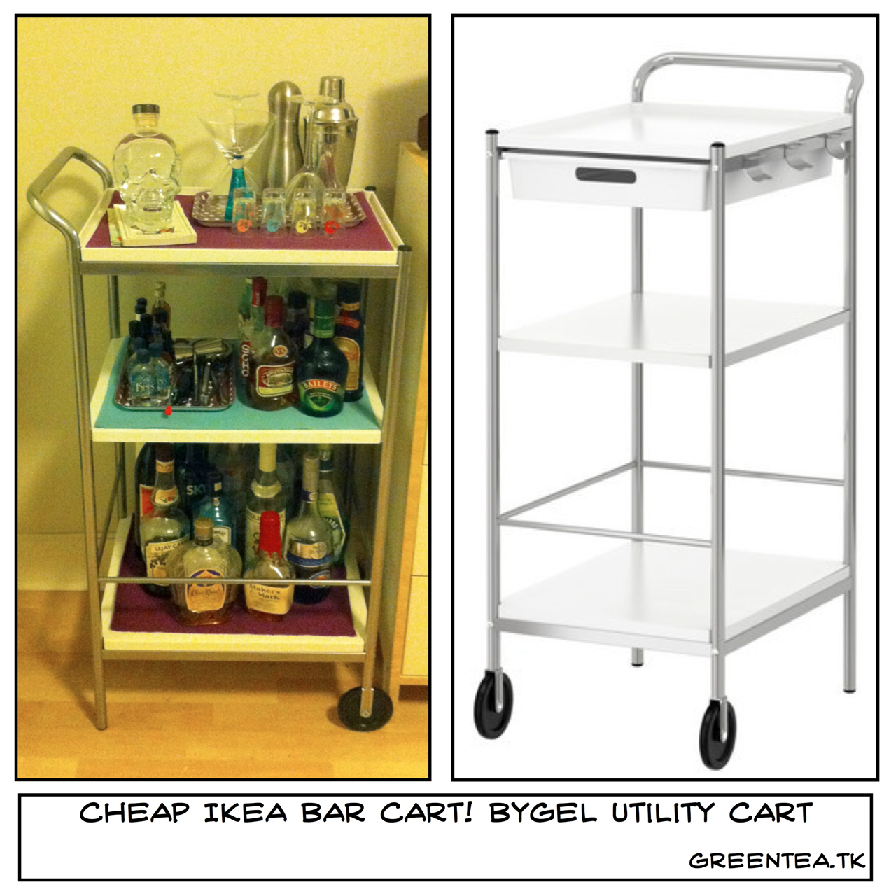 island carts ikea stenstorp kitchen microwave carts with storage  ~ Ikea Bygel Kitchen Utility Cart Island Organizer