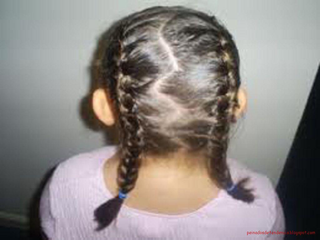 Peinado de nia peinados para ni 209 as paso a paso - Peinados de trenzas modernas ...