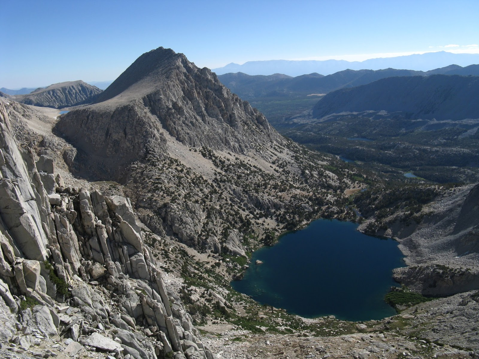 Mt. Starr and Ruby Lake