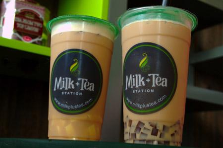 iced milk teas